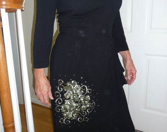 SALE  NOW  75.00   Stunning 40s gown--ML