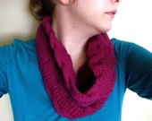 SPRING SALE Cabled Neck Cowl