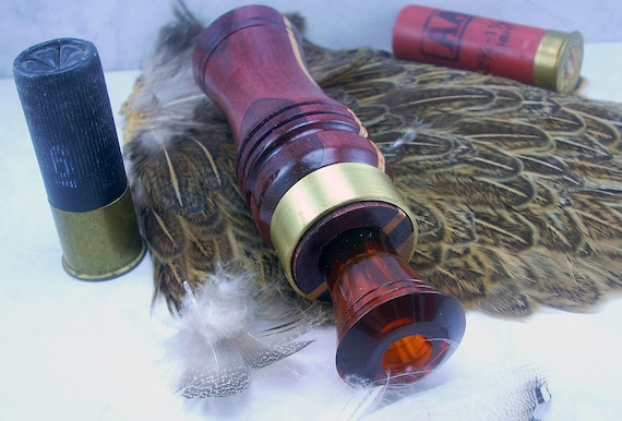 Duck Call Single Reed Echo in Purpleheart and Ash - Fathers Day  Sale