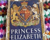 Odhams Princess Elizabeth Duchess of Edinburgh book from 1950