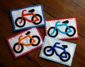 Custom Color Bicycle Patch (iron on)
