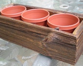 Barn Wood Flower Box