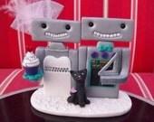 Custom Robots Cake Topper