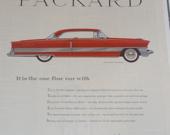 1956 Packard Four Hundred Ad