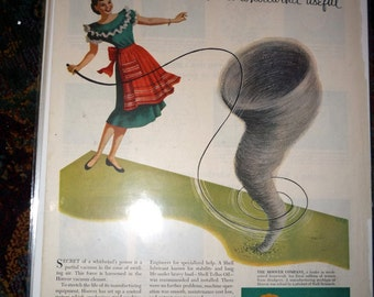 1954 Hoover Vacuum and Steel Research AD