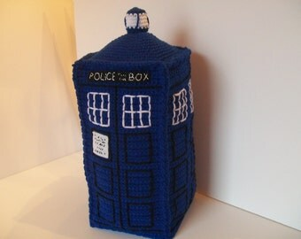 TARDIS Dr. Who Police Call Box inspired Plushie