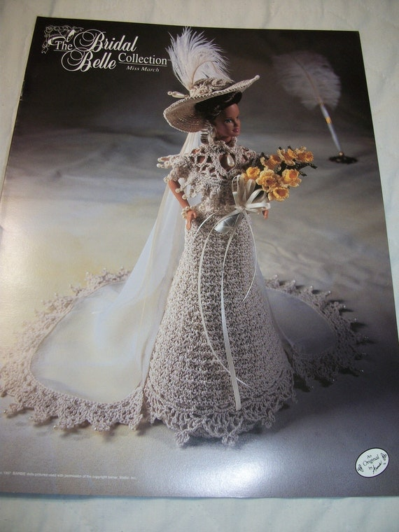 Annies Attic Crochet Patterns : Annies Attic Bridal Barbie Doll Crochet Pattern The Bridal Belle ...