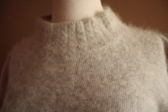 Light Gray Soft Pullover Sweater Top