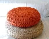 Floor Cushion Crochet - Giant knit