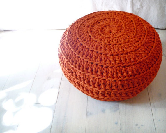 Pouf Crochet - Giant knit