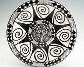 Mandala Celebration Plate