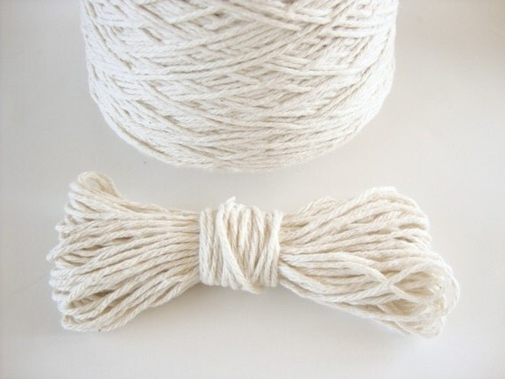 cotton bakers twine 20 yards natural cream