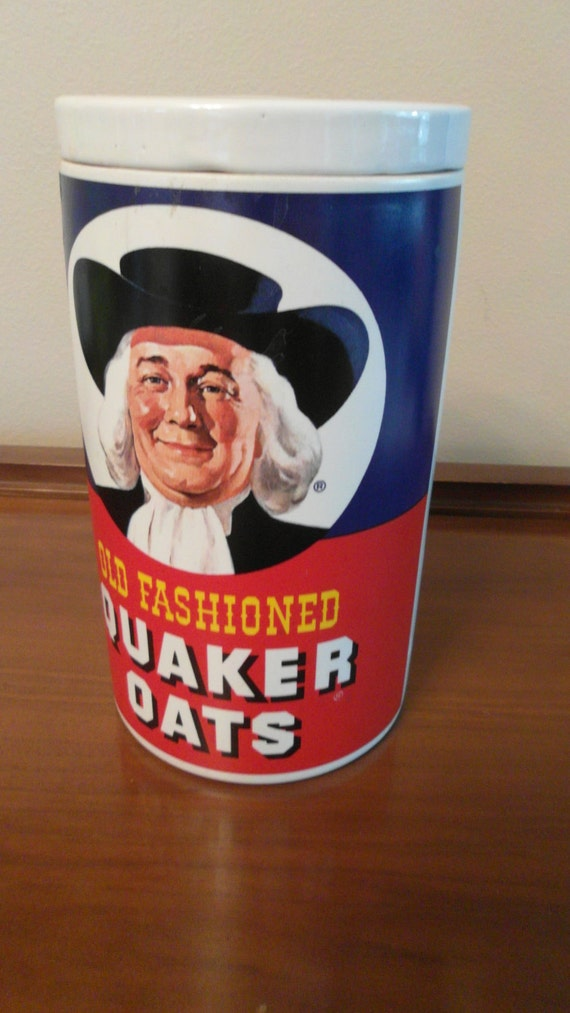 Vintage Regal China Old Fashioned Quaker Oats Cookie Jar