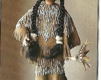 Modoc Doll in Traditional Dress
