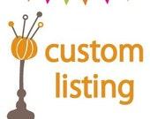 Custom Listing for cassierussellpdx
