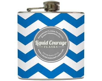 RESERVED - Liquid Courage Custom Flask Listing