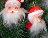 Vintage Santa Christmas Ornament