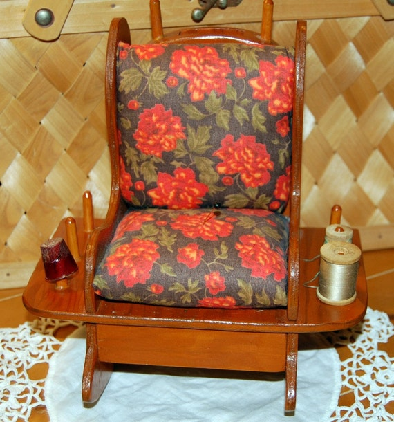 Vintage Rocking Chair Pin cushion