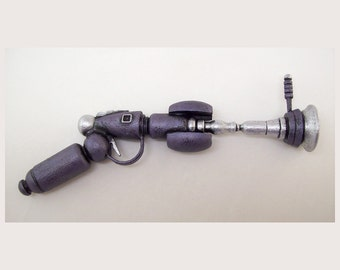 Purple Eclipse Retro Ray Gun Full LIFE Size Wood Prop