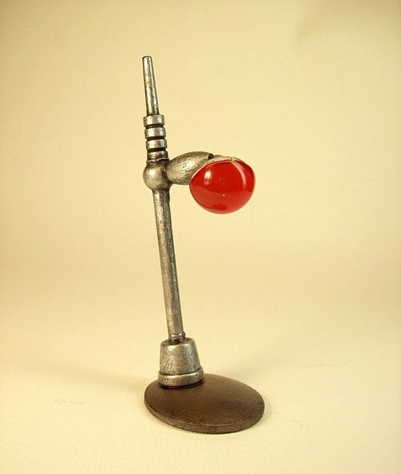 Retro Futuristic Lamp Post Base For Science Fiction Worlds Display Your Stuff