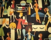 """Alexander Henry """"Cover Girls"""" Cotton Fabric"""