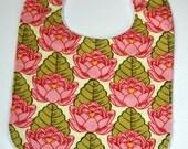 Pink lotus pond boutique bib