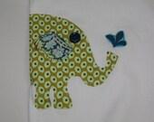 SALE Elephant applique onesie bodysuit