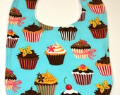Cupcake boutique bib