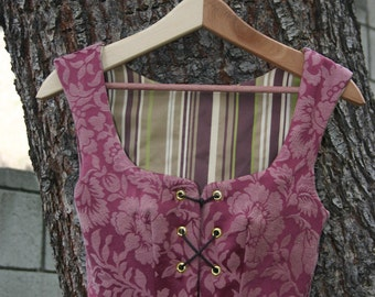 Pirate or Renaissance Wench Bodice - custom made to order