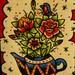 Teapot Original Tattoo Flash