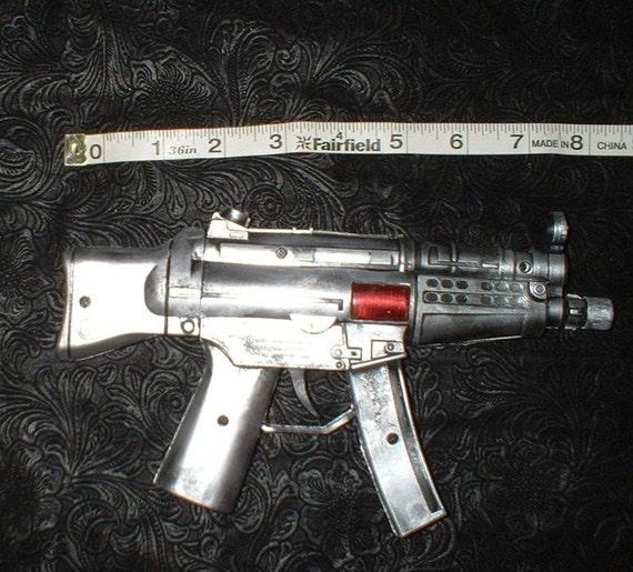 Steampunk Repeater Gun Silver Version
