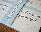 Heartbreak postcards - for the broken hearted