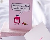 Sweeter than Jam - Valentine's Day Card