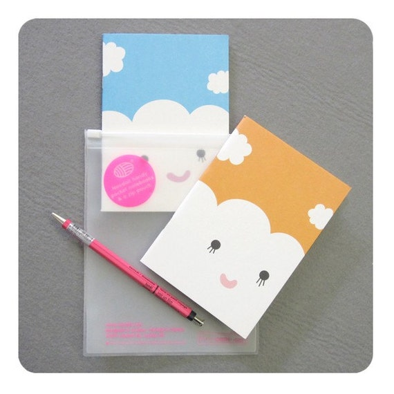 Notebook Duo And Pencil Set