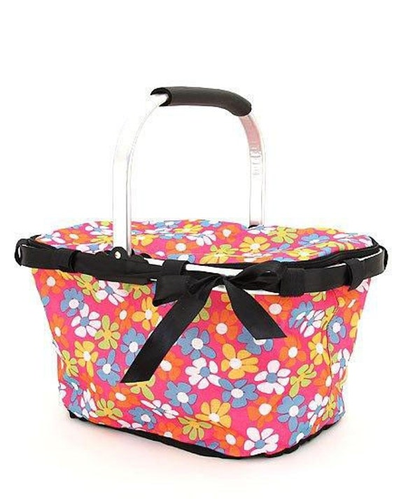 Personalized Market Tote with Zippered Lid Makes AWESOME Gifts