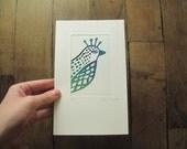 Engraving - Little Bird