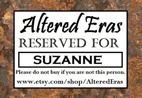 RESERVED For SUZANNE Custom Wuthering Heights Brass Cuff Steampunk - HEATHCLIFF - Ooak