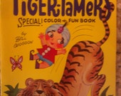 Sambo's Tiger-Tamers Special Color And Fun Book Restaurant