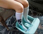 womens socks - white dragon, tattoo socks / printed art / print leggings /  legendary creature / tattoosocks