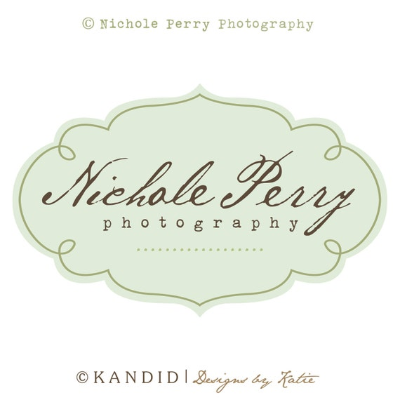 Premade Logo and Watermark With Layered PSD File