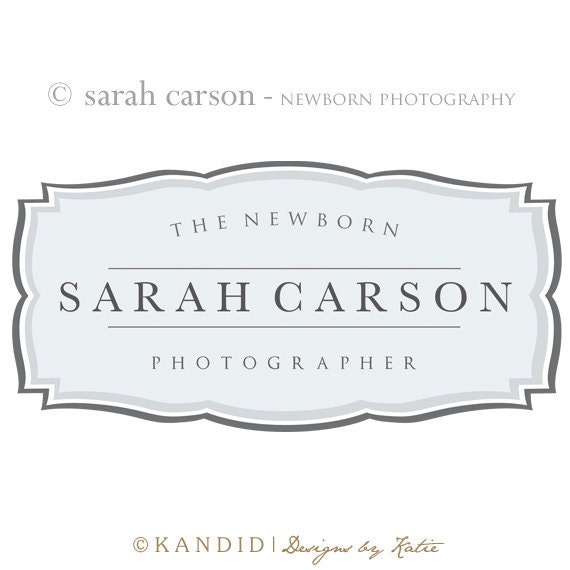 Premade Logo and Watermark Perfect For Branding Your Business