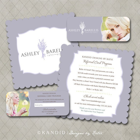 Luxe & Rep Card Referral Templates for Millers- Ashley Collection