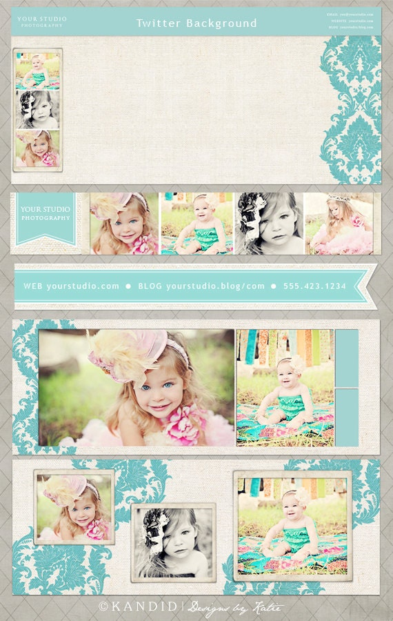 Nichole Social Media Bundle for Facebook, Twitter and Email