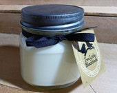 Frankincense and Fir - 8oz. Handpoured Soy Aromatherapy Container Candle - FREE SHIPPING