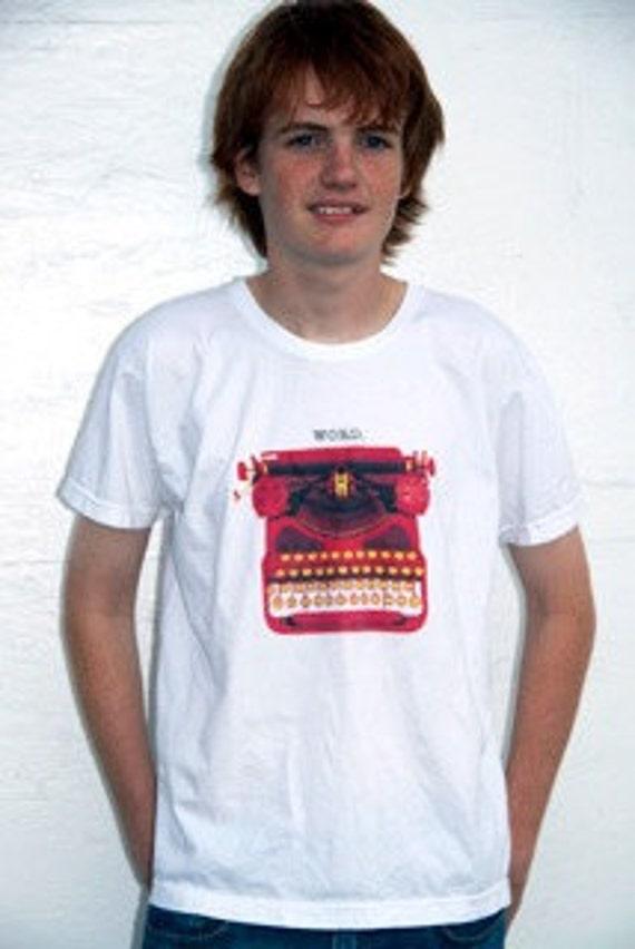 WORD. - TypeWriter Inspired T-shirt