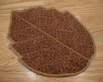 OOAK Leaf Coaster