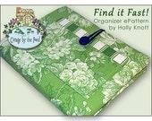 Find it Fast-Organizer Sewing ePattern (PDF)