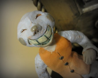 Ceramic Sculpture - The Jester - Off With His Head - Artistry To Alchemy