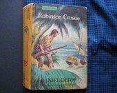Double-Sided Book Purse Robinson Crusoe and The Swiss Family Robinson