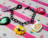 Made to Order Adventure Time Custom Charm Bracelet